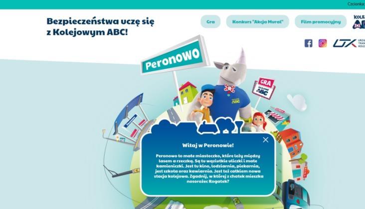 Kampania Kolejowe ABC wspiera nauczanie zdalne