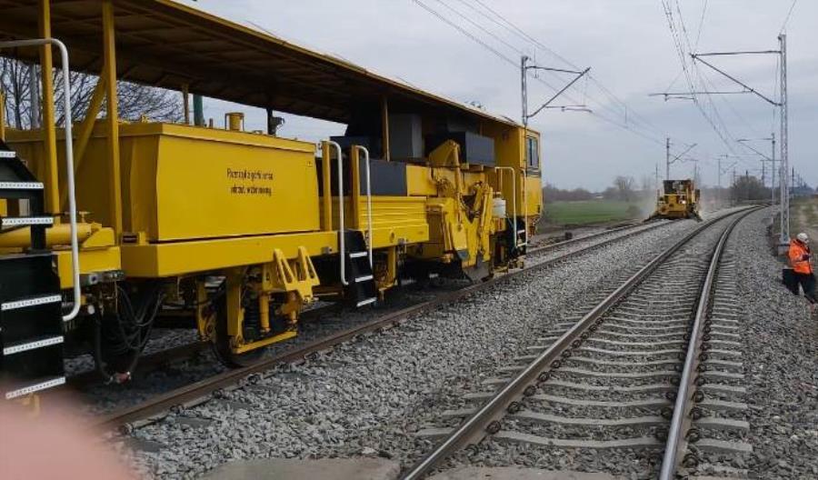 Trwają prace na magistrali E30 z Opola do Kędzierzyna-Koźla