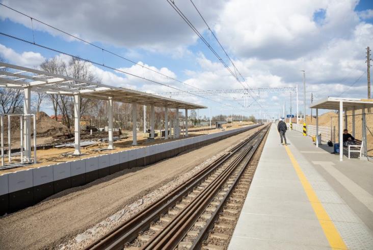 PLK rozszerza projekt modernizacji linii nr 8. Powstanie nowy przystanek Warka Miasto