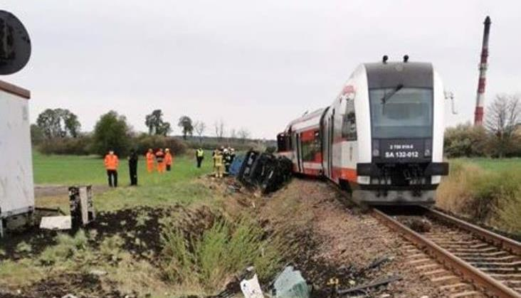 Po wypadku na linii Wągrowiec – Poznań. Komunikat PKP PLK
