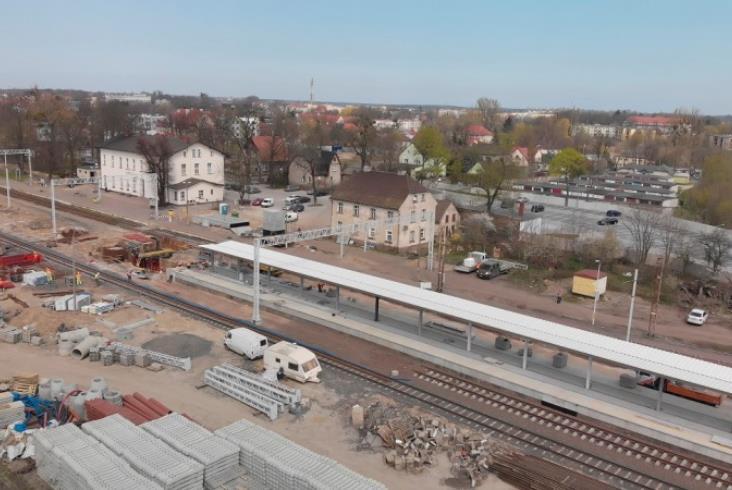 Trwają pracę na magistrali E59 między Poznaniem a Szczecinem [zdjęcia]