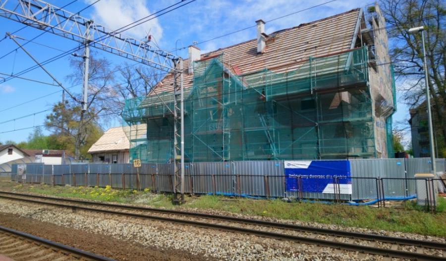 Dworzec w Suszu: Wzorowa współpraca PKP SA i wykonawcy [zdjęcia]