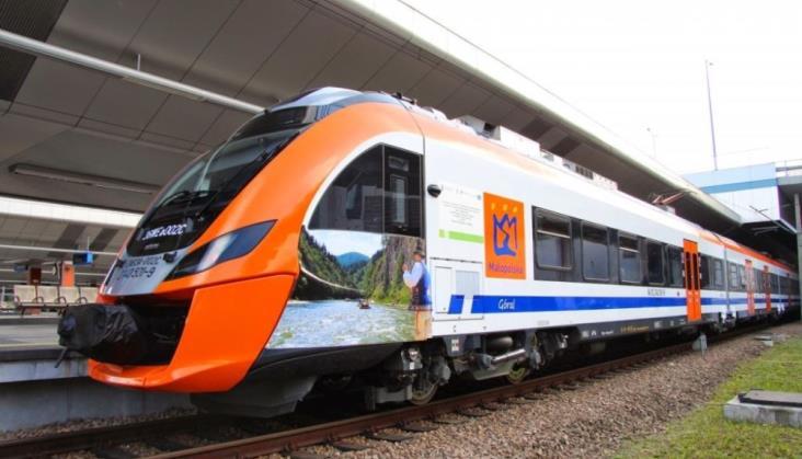 Stopniowe przywracanie kursowania pociągów PR w Małopolsce