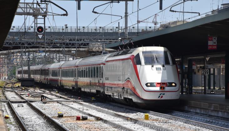Włoski transport kolejowy powoli wraca do normalności