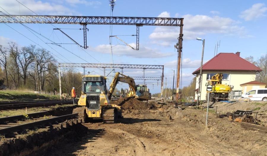Prace na liniach nr 15 i 16 Łódź – Zgierz [zdjęcia]