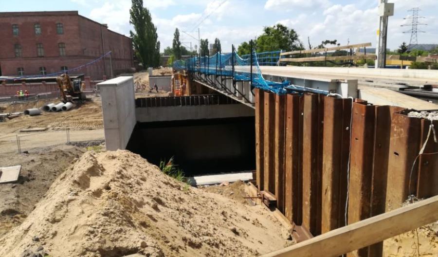 Powstaje nowy przystanek Wrocław Szczepin [zdjęcia]
