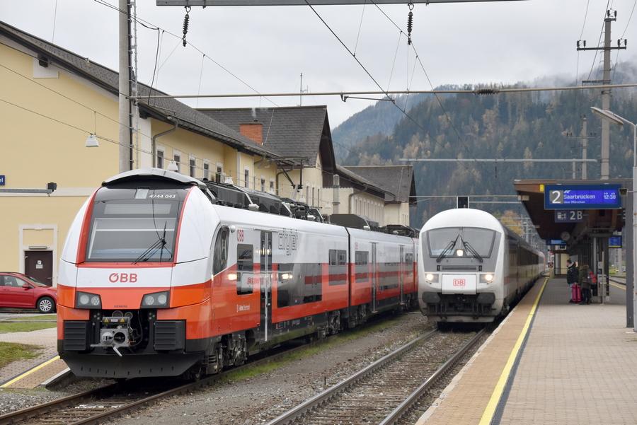 Koleje Szwajcarskie i Austriackie wracają do rozkładu sprzed pandemii koronawirusa