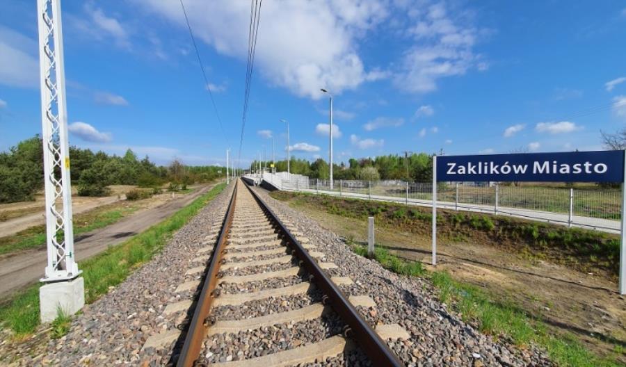 Zaklików Miasto – koleją lepsze dojazdy do Lasów Janowskich