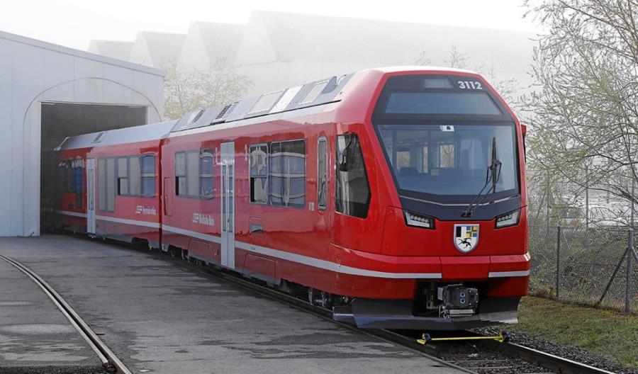 Stadler dostarczy 20 dodatkowych pociągów dla słynnych Kolei Retyckich