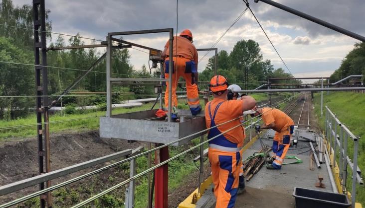 Rozpoczął się remont linii od Bytomia do Gliwic i od Mysłowic do Sosnowca