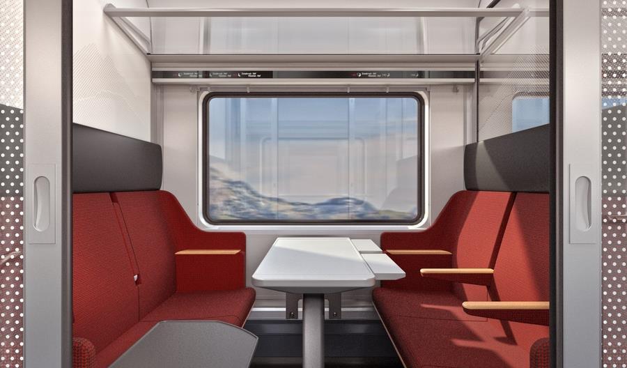 Koleje Austriackie pokazały wnętrza nowych Railjetów. Wracają przedziały [grafiki]