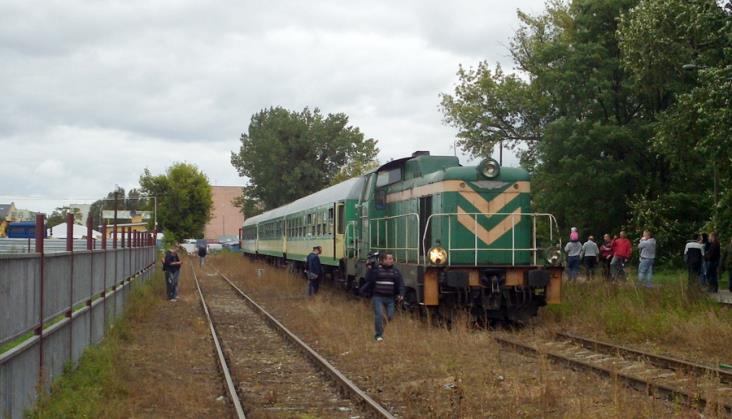 Projekt odbudowy kolei do Łomży z europejskimi pieniędzmi dla Podlasia