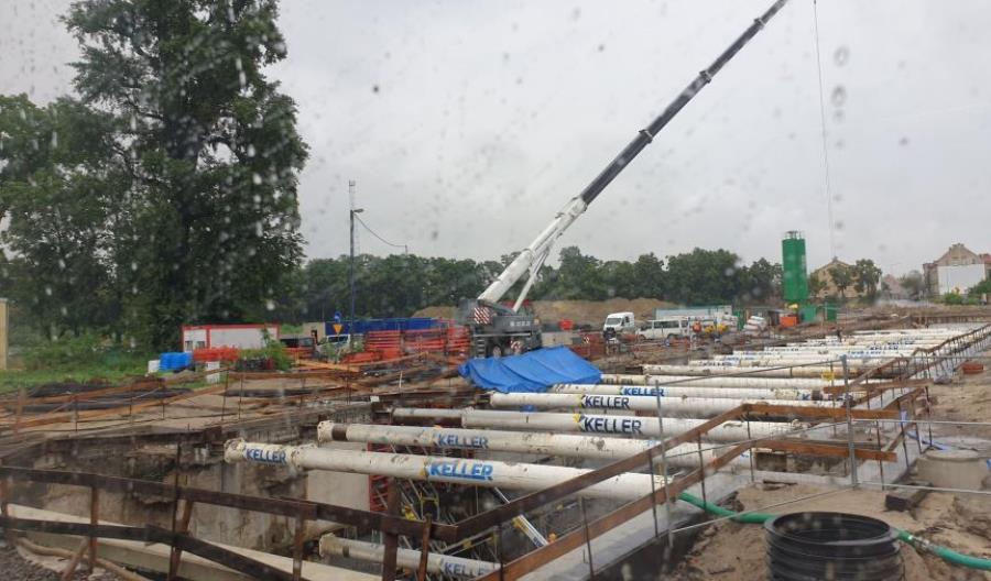 Koniec zasadniczych prac na E59 Wrocław – Poznań w grudniu