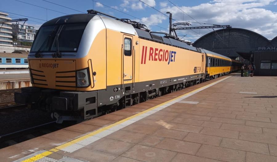 Pierwszy pociąg RegioJet z Czech dojechał do Rijeki [aktualizacja]