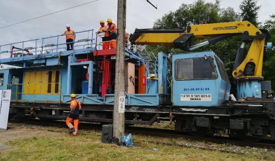 Rozpoczynają się prace na odcinku Wadowice – Andrychów linii nr 117