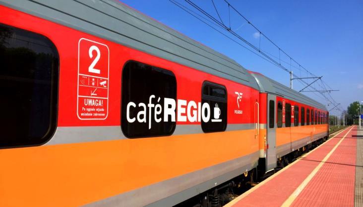 Jedyny wagon gastronomiczny Polregio ponownie otwarty