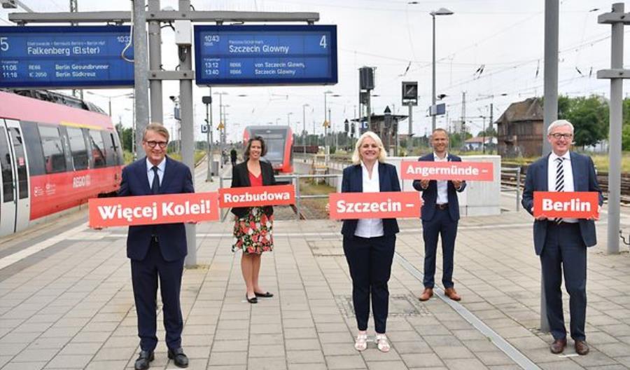 Berlin-Szczecin o 20 minut szybciej. Niemcy dają na to pół miliarda euro