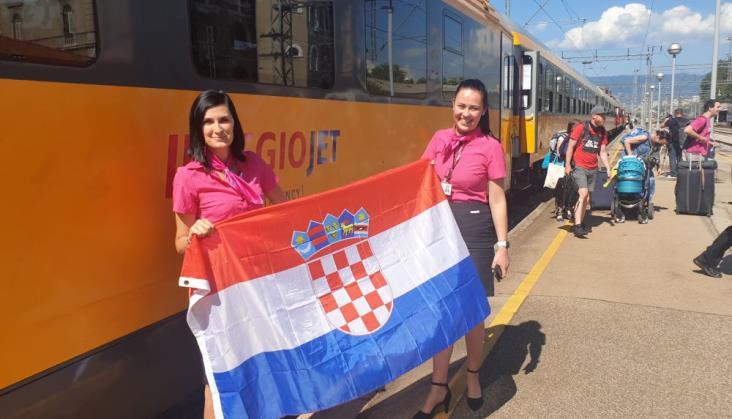 RegioJet Praga – Rijeka już codziennie. Więcej miejsc na rowery i wagony ciszy