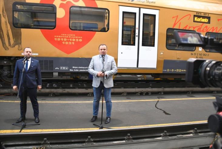 Kolejny złoty pociąg w Kolejach Śląskich