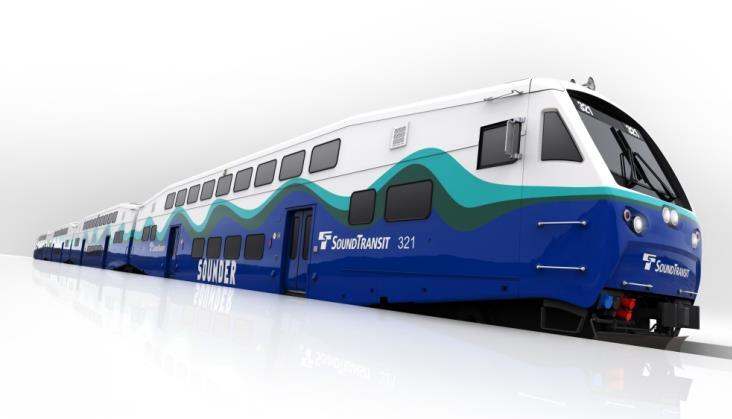 Bombardier: Kontrakt na wagony piętrowe dla North County Transit District