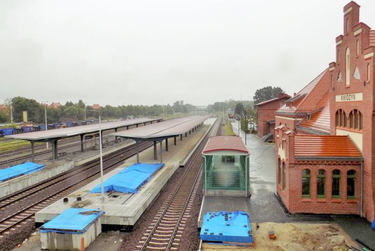 Komunikacja zastępcza za pociągi między Malborkiem a Kwidzynem raczej do końca roku