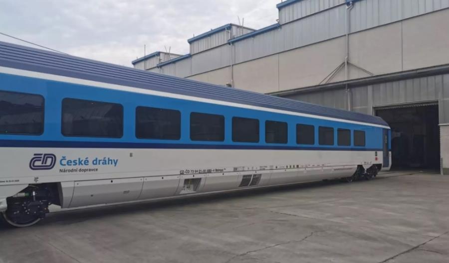 Nowe wagony z konsorcjum Siemens – Skoda dla Kolei Czeskich już na testach