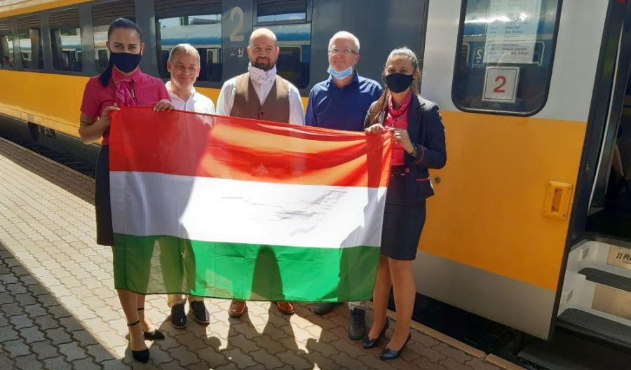 RegioJet już w Budapeszcie