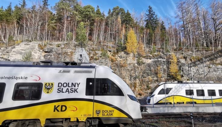 Koleje Dolnośląskie: Stawiamy na komfort pasażerów