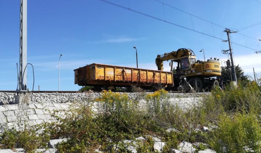 Kolejny etap prac na linii kolejowej nr 292 [zdjęcia]