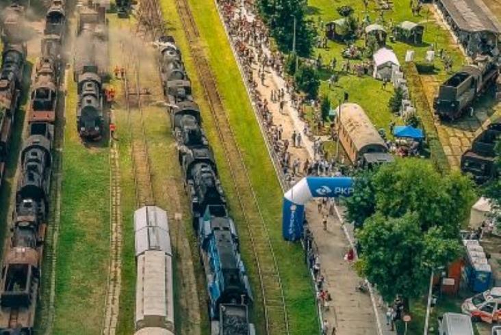 """""""Wirtualnie pod parą"""" w Skansenie w Chabówce"""
