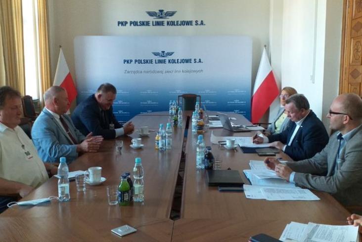 Rewitalizacja i elektryfikacja kolei do Łomży zgłoszona do programu Kolej Plus