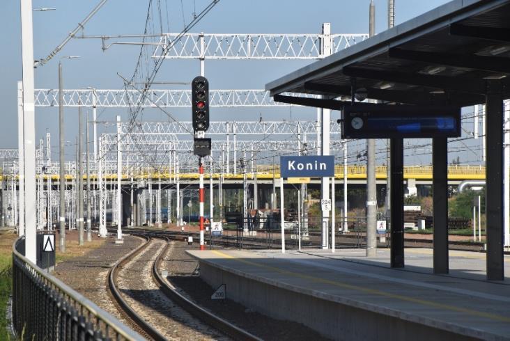 PLK: Kończą się zasadnicze prace na E20 LCS Konin