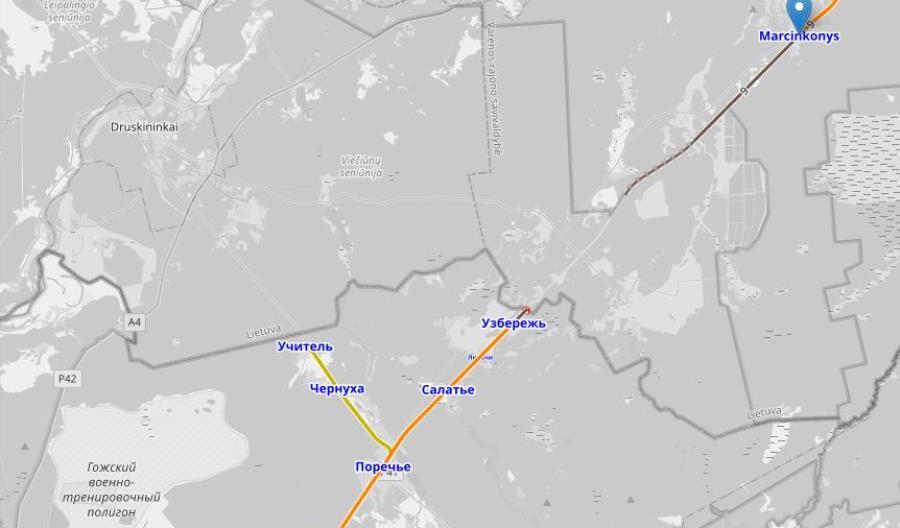 Litwa odbuduje kolej do Grodna i Druskiennik?