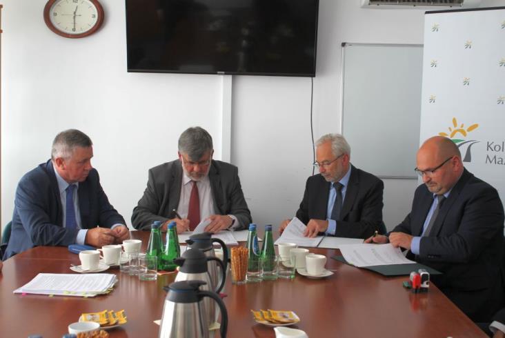 Koleje Mazowieckie podpisały dużą umowę z ZNTK Mińsk Maz.