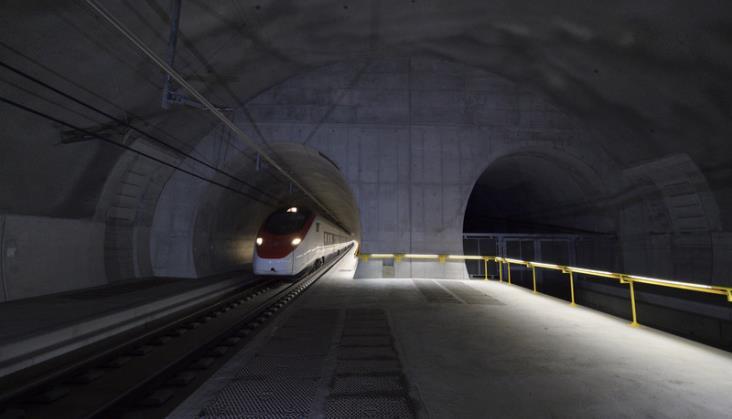 Szwajcaria: Tunel pod przełęczą Ceneri otwarty