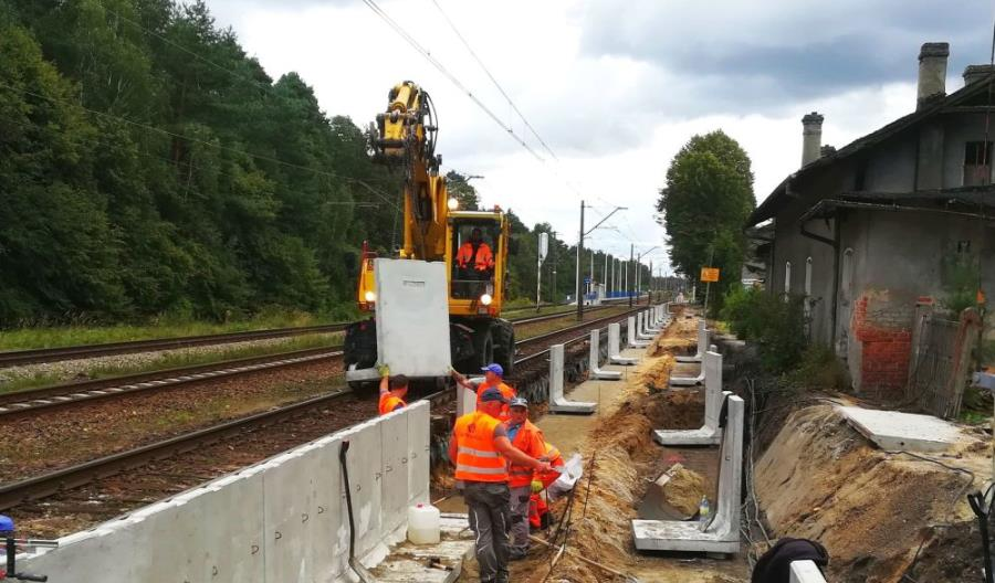 Rozpoczęła się przebudowa pierwszego peronu w ramach wartego 100 mln zł projektu