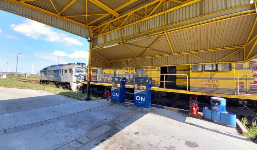 Stacja paliw na terenie bocznicy Grupy Azoty S.A. w Tarnowie-Mościcach (stacja PKP PLK: Mościce Azoty)