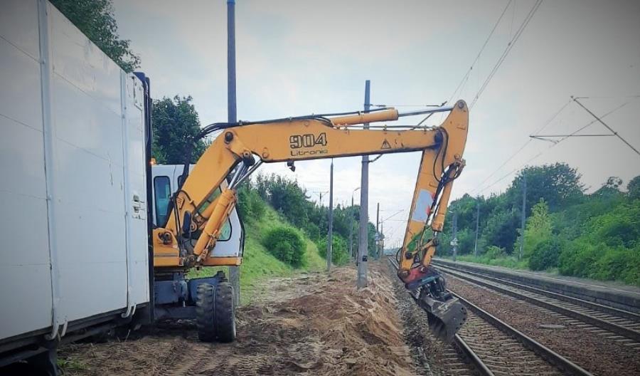 Zaczęły się prace przy przebudowie peronów między Inowrocławiem a Jabłonowem Pomorskim