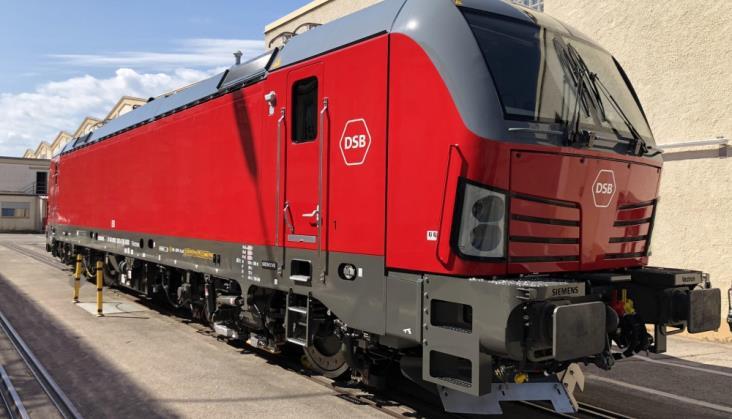 Lokomotywa Vectron z dopuszczeniem w Danii