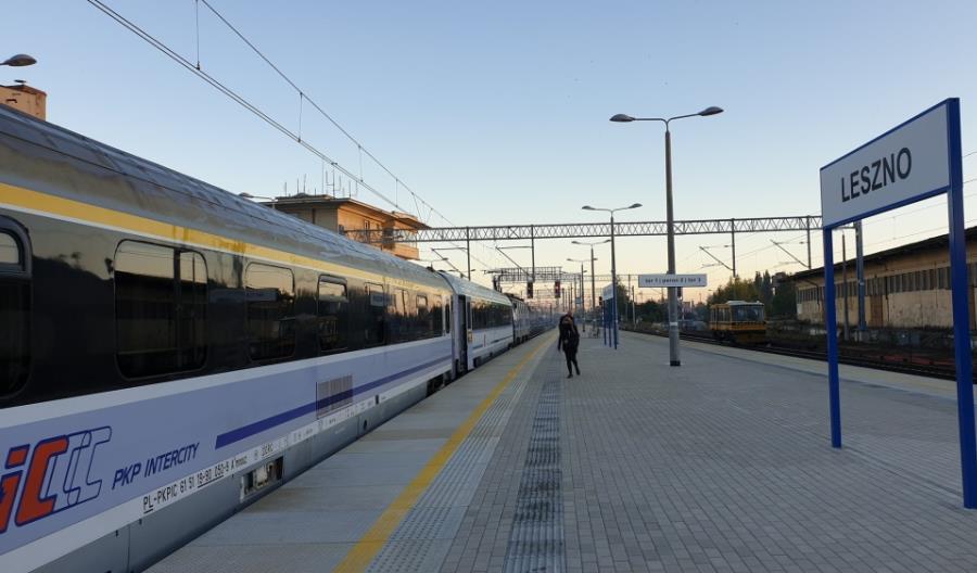 E59: Opóźnienie budowy przejścia podziemnego na stacji Leszno