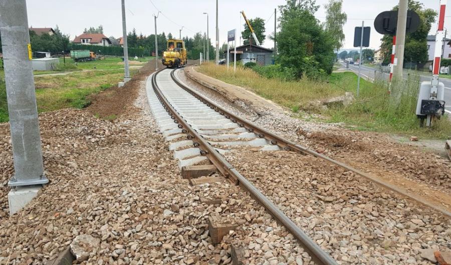 PLK: Wysokie tempo prac na linii nr 117 Wadowice – Andrychów