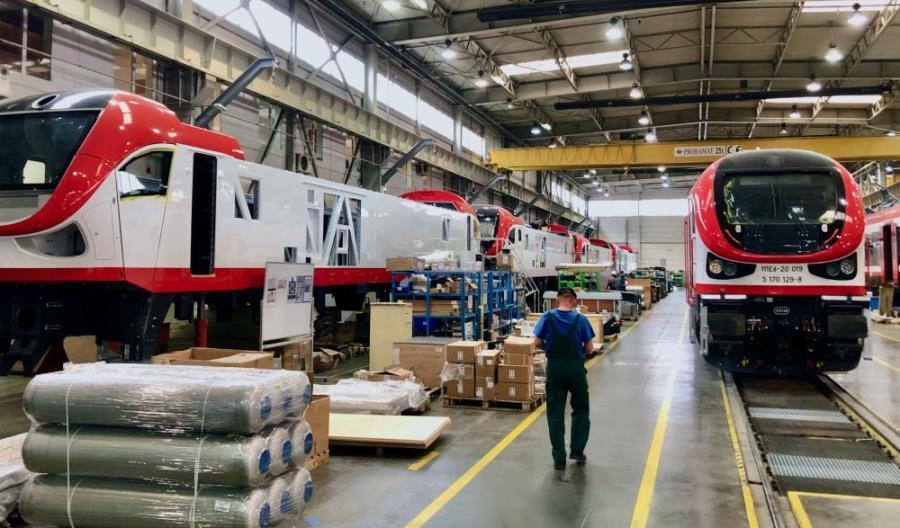 Pesa dostarczyła RCP pierwszą lokomotywę Gama w ramach projektu intermodalnego