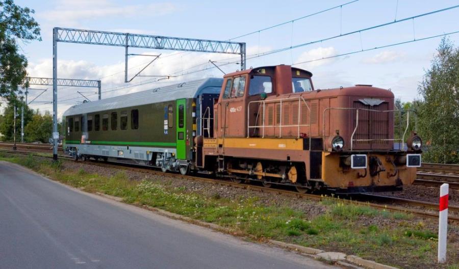 Pierwszy wagon FPS dla PKP Intercity do przewozu wojska [zdjęcia]