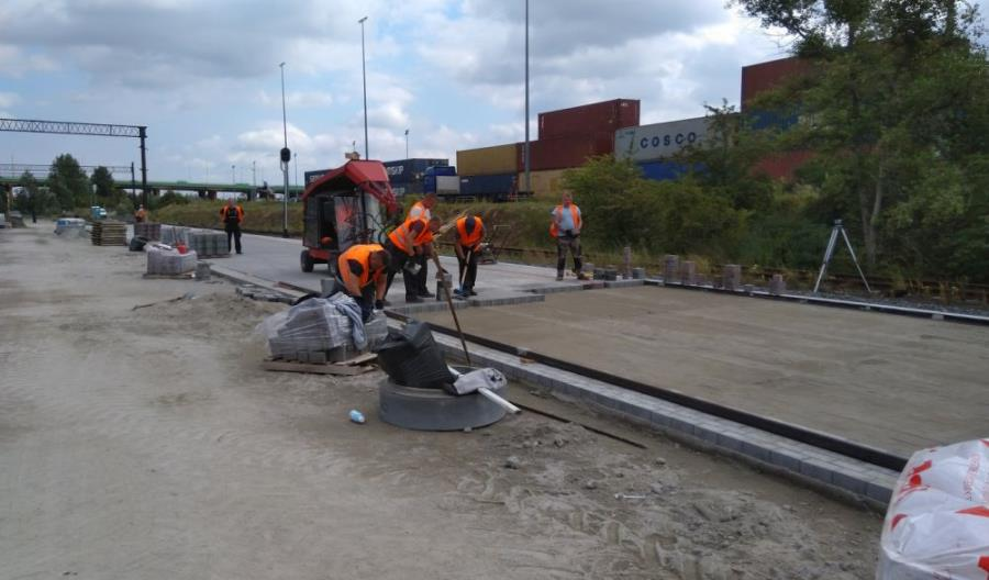 Powstaje nowy punkt ładunkowy na stacji Poznań Franowo
