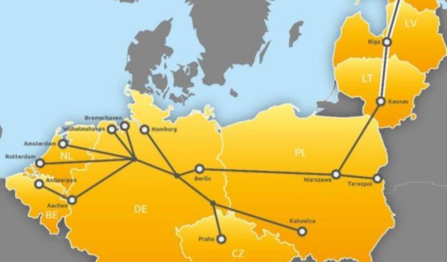 Łotwa i Estonia dołączyły do kolejowego korytarza Morze Północne-Bałtyk