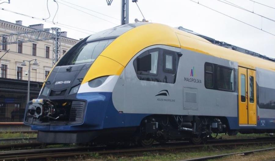Nowe pociągi dla Kolei Małopolskich na badaniach dopuszczeniowych