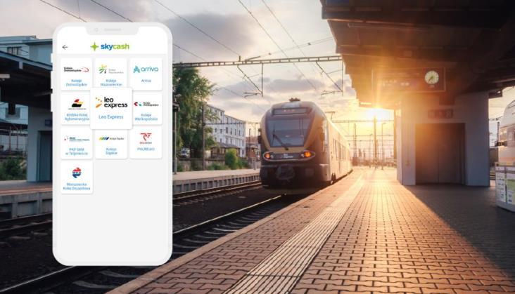 Bilety kolejowe Leo Express dostępne w aplikacji SkyCash