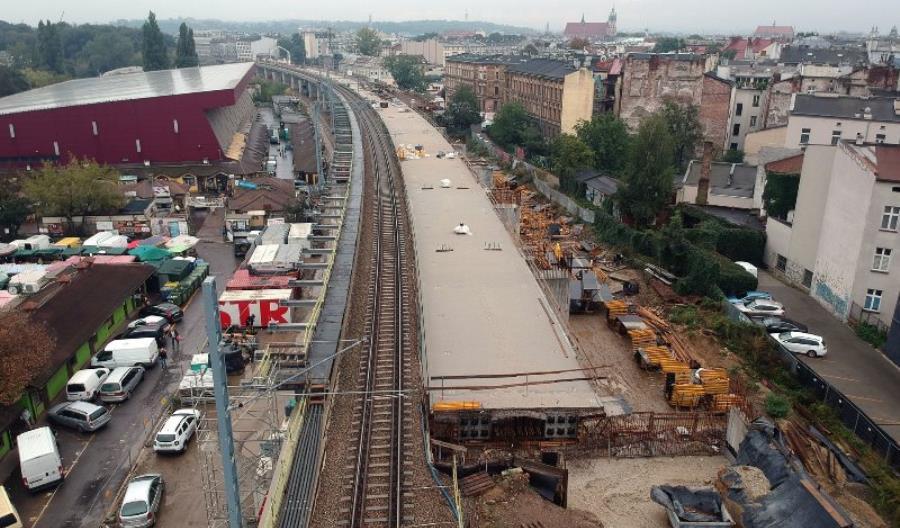 Kraków: Jak zostaną zagospodarowane podcienia nowych estakad?