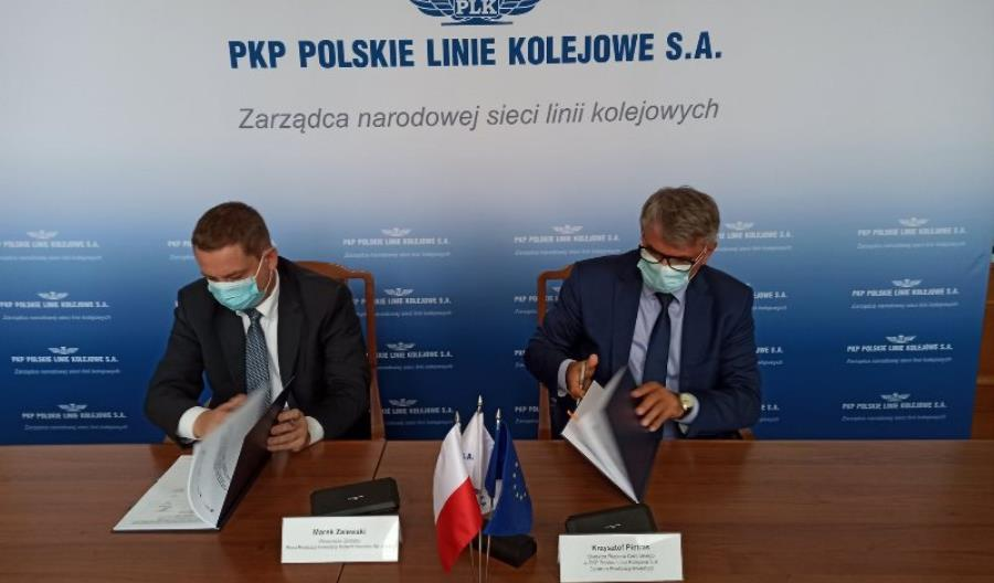 Jest umowa na nadzór nad odcinkiem Warszawa Wschodnia – Wawer. Wykonawca w 2021 r.