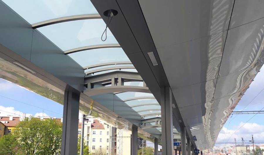 Design na kolei w czeskiej Pradze